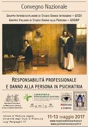 Responsabilità Psichiatria Milano 2017